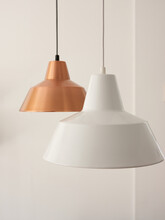 Simple Pendant Lamps In Room