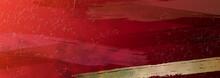 和風の高級感あるテクスチャ背景(赤)