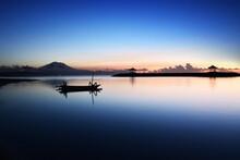 Beautiful Morning At Karang Beach, Sanur, Denpasar City, Bali Province, Indonesia