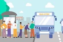Bus Stop Queue Composition