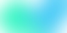Abstract Blue And Green Aqua Background