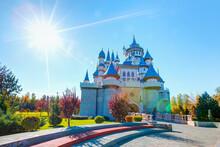 Sazova Park With Bright Blue Sky - Eskisehir, Turkey
