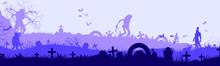 Afraid, Architecture, Autumn, Background, Banner, Bat, Black, Boneyard, Building, Cartoon, Celebration, Cityscape, Creepy, Dark, Design, Evil, Fear, Fly, Funeral, Gothic, Grave, Graveyard, Halloween,