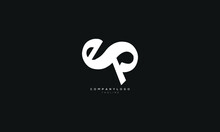 ESP, EP, Abstract Initial Monogram Letter Alphabet Logo Design