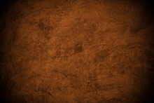 Old Wall Texture Cement Brown Black Gray  Background Abstract Grey Color Design Are Light With White Gradient Background.