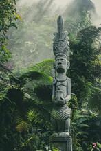 Statue, Sculpture, Totem