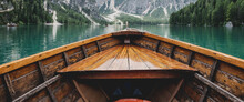 On A Boat On The Lake