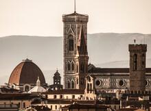 Italia, Toscana, Firenze, Il Campanile Di Giotto.