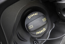 .open Hatch For Refueling The Car With Diesel - Image