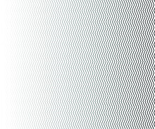 Wave Line And Wavy Zigzag Pattern Lines. Abstract Wave Geometric Texture Halftone. Chevrons Wallpaper. Digital Paper For Page Fills, Web Designing, Textile Print. Vector Art.