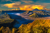 Sunrise at volcano Bromo, Java