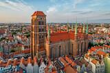 Fototapeta Miasto - Bazylika Mariacka- Gdańsk, Poland.