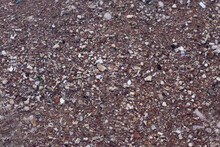 Background Texture Pebbles Stones In Sea Water. Sea Pebbles.