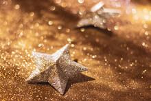 Golden Christmas Star