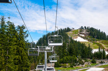 Exciting Zipline Ride On Grouse Mountain In Vancouver Canada