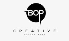 BOP Creative Circle Letters Logo Design Victor