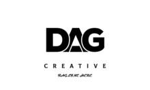 Creative DAG Three Latter Logo Design