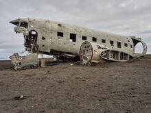 Sólheimasandur Avión Estrellado VIK Islandia