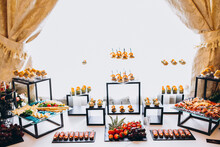 Wedding Snacks And Desserts Table