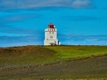 Faro Dyrhólaey Islandia Cerca De Vik