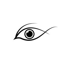 Eye Icon Vector Illustration. Vector Illustration Eps.10