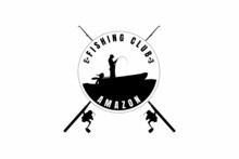 Fishing Club Amazon,t-shirt Mockup Silhouette Fishing In The Ship