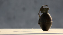 An Old Hand Grenade