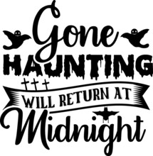 Hallloween SVG Halloween Quotes Halloween Party Quotes, Witch And Horror House Ghost Typography For Halloween