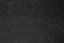 Black Fabric Cloth Polyester Texture And Textile Background.