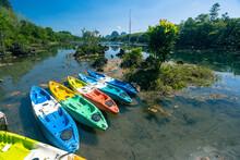 .view Of Kayak At Klong Root Nong Thale,krabi ,Thailand