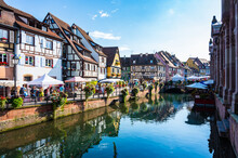 Historische Altstadt Von Colmar Im Elsaß - Frankreich