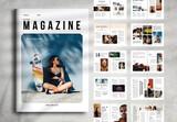 Clean Magazine Layout