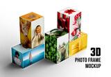 3D Photo Frame Mockup