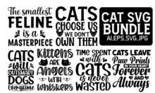 CAT SVG BUNDLE