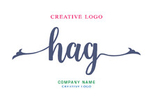 HAG Lettering Logo Is Simple, Easy To Understand And Authoritative
