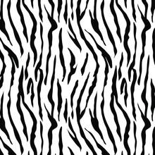 シマウマ模様のシームレスパターン