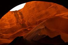 Natural Wave At Lower Antelope Canyon, AZ