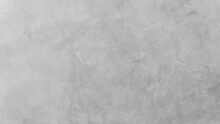 Empty Gray Cement Wall Room Interior Texture Background Well Editing Text Present On Free Space Concrete