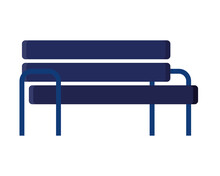 Blue Bench Design