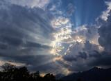 Fototapeta Na sufit - Niebo - chmury