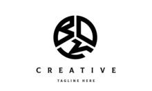 BOK Creative Circle Three Letter Logo
