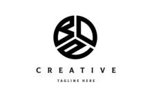BOP Creative Circle Three Letter Logo