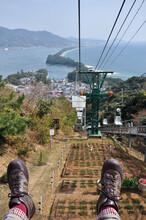 日本三景 天橋立のリフト