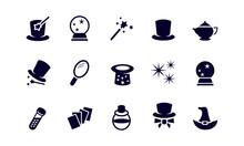 Magic Icon Set Vector Design