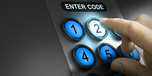 User Verification Code. Pin Authentication.