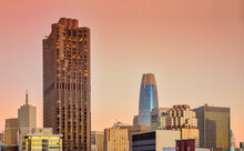 San Francisco Architecture With Salesforce Tower