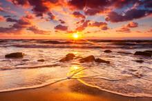 Black Sea, Bulgaria - September, 2012: Irakli Beach