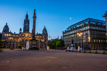 Glasgow George Square Night