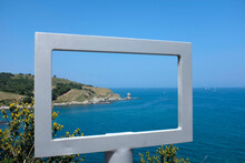 Viewpoint At The Coast Of Spain