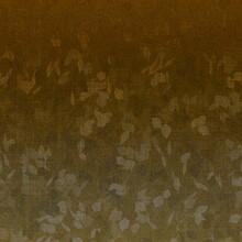 Abstract Dark Gradient Orange Brown Background With Leaves Shapes Pattern, Natural Leaf, Nature Pattern, Or Old Retro Textured Wall Decoration Or Parchment Paper